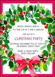 Breakfast Invitation Template Office Christmas Party Invite Email