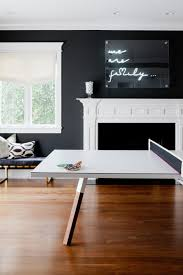 living room wall furniture. wonderful furniture contemporary game room with black walls and ping pong table to living wall furniture
