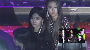 Twice Gaon Chart 2018 Twice Reaction To Sunmi 7th Gaon Chart Music Awards 2018