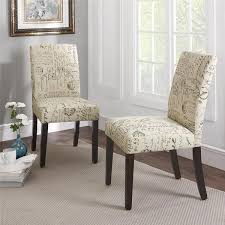 amazing amazing of upholstered parsons dining chairs with dorel living intended for french script dining chair popular