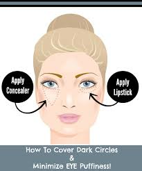 how to cover dark circleinimize eye puffiness by barbies beauty bits