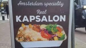 Kapsalon Fittie Over Kapsalon Tussen Amsterdam En Rotterdam