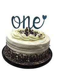 One First Birthday Cake Topper Happy 1st Smash Party Decorations