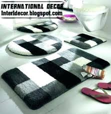 grey and white bathroom rugs gray and white bathroom rugs gray bathroom rug black and gray