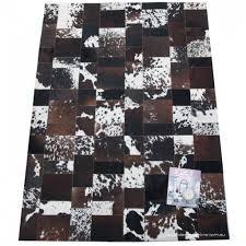 flooring intriguing black white cowhide patchwork rugs patchwork cowhide rug 8x10