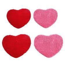 autumn fall welcome door mat doormat red heart shaped non slip b