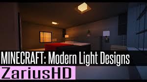 How To Make A Ceiling Light In Minecraft Minecraft Modern Light Designs W Lorddakr