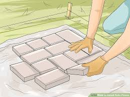 How To Lay A Patio  YouTubeHow To Install Pavers In Backyard