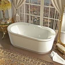 venzi padre 34 x 67 x 21 oval freestanding whirlpool jetted bathtub