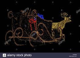 Reindeer Christmas Lights Outdoor Sleigh And Reindeer Of Coloured Outdoor Christmas Lights