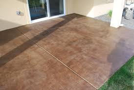 stained concrete patio picture my journey colored stamped patios stain concrete patio designs diy