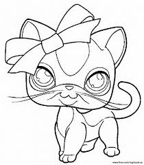 Small Picture Littlest Pet Shop Coloring Pages To Print Coloring Home
