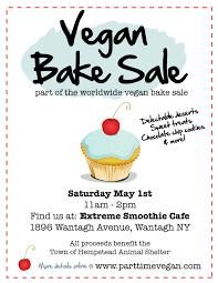 Vegan Bake Sale Recipes Worldwide Vegan Bake Sale Part Time Vegan