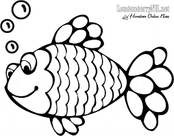 Small Picture Rainbow Fish Coloring Pages Bebo Pandco