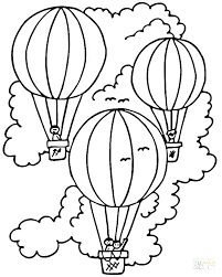 Free Birthday Balloon Coloring Pages Mjsweddings Com