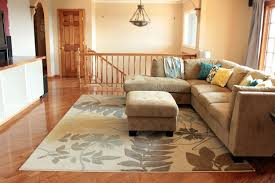 area rug size for living room style