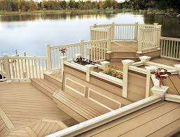 Wood Polymer Composite Decking In Usa Poland Composite Exterior - Exterior decking materials