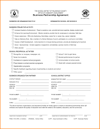Employment Payment Business Agreement Form Template ~ Goethecy