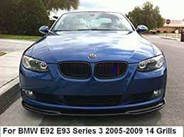 Fit for BMW 3 Series E92 E93 2005-2009 14 Slats ... - Amazon.com