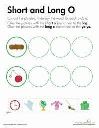 In these sentences, look for the words with a spilt digraph. Long And Short Vowels O Worksheet Education Com