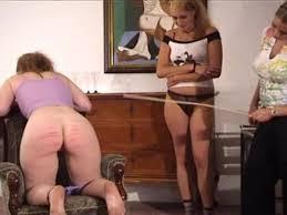 Anal free spanking video