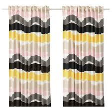 ikea oddveig curtains 1 pair the curtains can be used on a curtain rod or