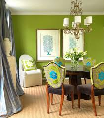 neutral green wall and cream floor and white l and small room ideas for innovative and elegant green dining room design for your modern home ideas