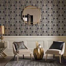 art deco black gold on art deco wallpaper for walls with the art deco collection art deco wallpaper accessories graham