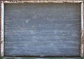 Contemporary Industrial Garage Door Texture Rusty Metal Roll Up On Concept Ideas