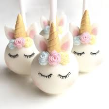 Sleeping Unicorn Cake Pops By Popalicious Cake Pops