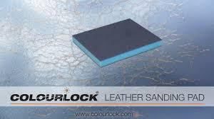 Colourlock Leather Sanding Pad 1 Unit
