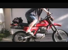 honda xl500r or xr500 motorcycle