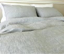 ticking stripe duvet cover black and white striped duvet cover light blue ticking stripe duvet cover