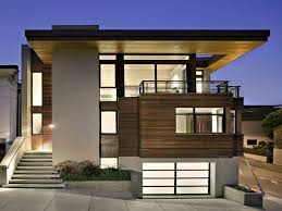 Modern Minimalist House. Beautiful Exterior Design For Minimalist .