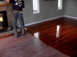 Staining Wood Floors Darker U2014 Home Ideas Collection  Staining Staining Hardwood Floors Black