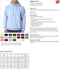 Hanes Sweater Size Chart Hanes Ecosmart Pullover Hooded Sweatshirt At Amazon Mens