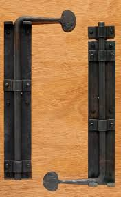 Barn Door Cane Bolt When two doors come together without a post in ...