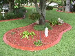 Image of: Concrete Landscape Curbing Ideas