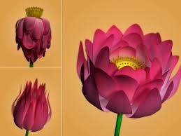 <b>Lotus Flower</b> Free <b>3D</b> Model in <b>Flowers</b> 3DExport
