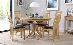 extending dining table sets. Hudson Round Extending Dining Table And 4 Bali Chairs Set Sets I