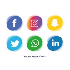 social media buttons transparent background. Social Media Icons Transparent Background Png Free Download Inside Buttons