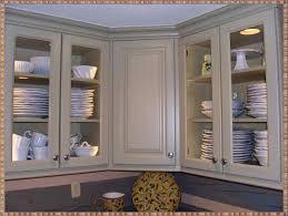 Plain White Kitchen Cabinets Rectangle Dark Brown Textured Wood Modern Island Glass Front