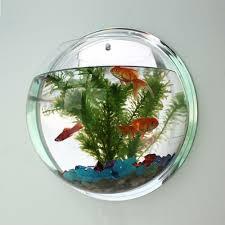 fish bowl acrylic creative wall hanger