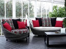 Modern Furniture Red Interior Design