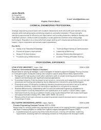 Software Engineering Resume Format Experienced Engineer Resume