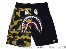 brand select abism a bathing ape ape 1st camo shark sweat shorts shark swettshorts bape bape rakuten global market