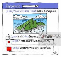 Resultado de imagen de CARTOON ON JAPANESE AND CHINA CONFLICTS