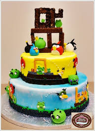 Some Cool Angry birds Cake Angry birds cake ideas– CrustNCakes