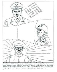 Toy Soldier Coloring Pages Printable Sheet Soldiers World War 2