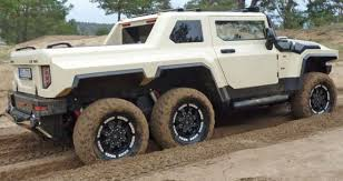 Bureko-6x6 Pickup - Czech Hummer based on Land Rover Discovery VIDEO ...